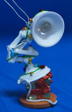 Luxo Jr Desk Lamp Ornament Decorated w/ Lights Christmas Disney Parks Pixar