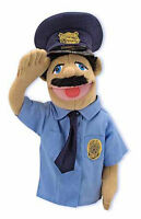 15 Police Officer Puppet 2551 Community Helper Melissa & And Doug