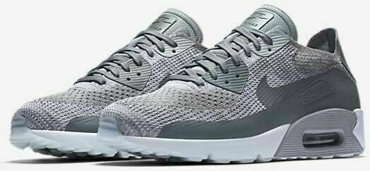 Size 9.5 - Nike Air Max 90 Ultra 2.0 Flyknit Pure Platinum 2017 ...