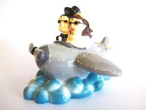 Boda-Avion-Viajes-Luna-de-Miel-Hucha-Hucha-14cm-Money