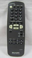 Sharp GA035SA Genuine TV Remote 32UF5, 27US100, 36UF5, 20RS100S, 27RS200, 27RFS1