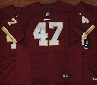 purchase cheap adc61 20409 Washington Redskins #47 CHRIS COOLEY ELITE Jersey 2XL 3XL SEWN NWT Nike 52  56 | eBay