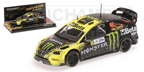 MINICHAMPS 400098946-échelle 1 43 Ford Focus WRC  Beta  Rossi Monza Rally 2009