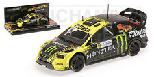 Minichamps 400098946-Scala 1/43 FORD FOCUS WRC 'BETA' ROSSI MONZA RALLY 2009