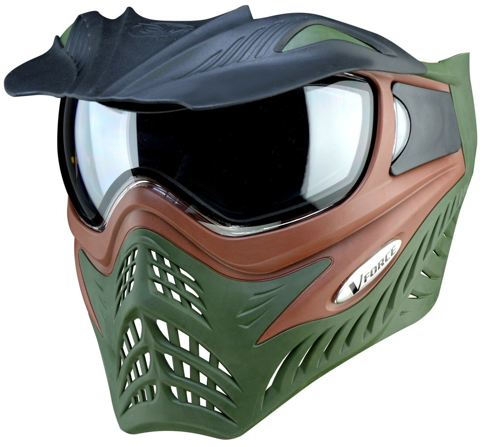 New VForce VForce Grill Thermal Goggles Mask  SC Terrain  Olive Drab  Marronee