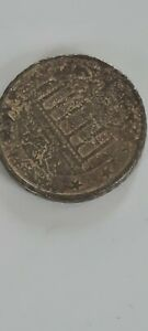 German 50 Cents Rare Mint Error Both Sides 2002 Coin With The Letter F