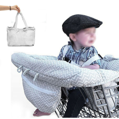 Baby Shopping Supermarket Trolley Cart Seat  Child High Chair Cover Protecor UN