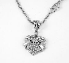Wife Necklace Wife Gift Wife chain Wife Present Wife Pendent Wife Necklace Best