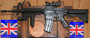 1:6 MINIATURE FIREARM COLLECTORS US MPAR-556 AR-18 SUBMACHINE GUN ASSAULT RIFLE