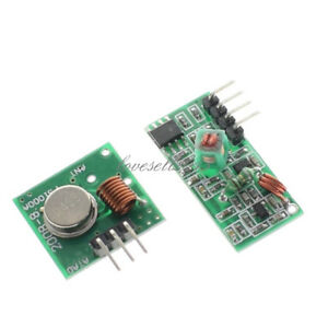 RF 433Mhz transmitter and receiver link kit for Arduino//ARM//MCU WL