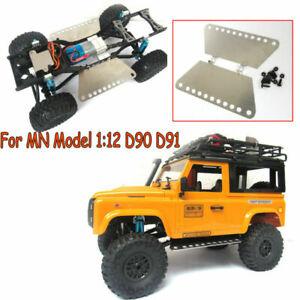 Placa-Metal-actualizacion-2PCS-Pedal-De-Pie-Piezas-para-MN-Modelo-1-12-D90-D91-RC-coche-camion