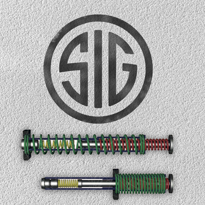Muelle de rojoucción de retroceso Dpm para todos los modelos Sig Sauer
