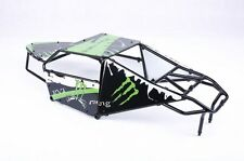 Alloy Roll cage kit with Plastic Green image windows for Hpi Baja 5T 5SC
