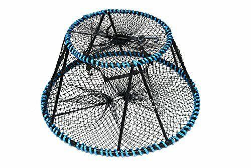 KUFA Tower style prawn, crab trap (ø28 x ø20 x 12 ),Stretched Mesh size 1-3 4