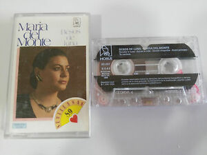 MARIA-DEL-MONTE-BESOS-DE-LUNA-CASSETTE-TAPE-CINTA-HORUS-1989
