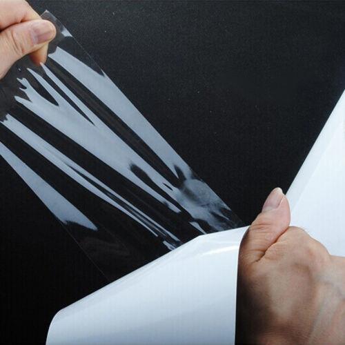 "20CM X 10M Car Auto 8/"" Door Sill Edge Paint Protection Vinyl Film Sheet WYS"