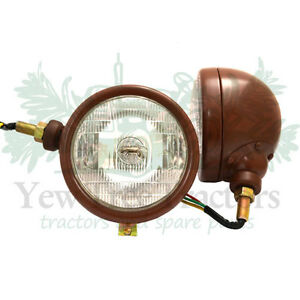 Headlights massey ferguson 25 35 65 835 side mounting pair new ebay - Massey ferguson head office ...