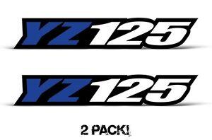 Swingarm-Decal-sticker-graphics-kit-for-Yamaha-YZ125-2S-Tank-2PC-1-5-x-9-Blue