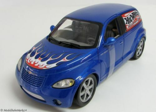 Hot wheels Chrysler panel Cruiser Bleu scale 1 18 OVP