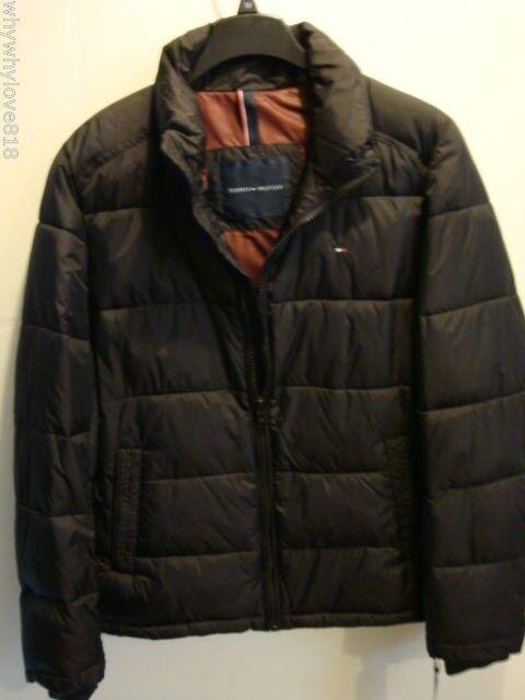 6be6be5c907 Tommy Hilfiger Men's Puffer Coat Jacket XL