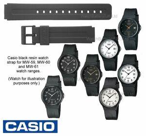 5e322b79376e Genuine Casio Watch Strap Band MW-59 MW-60 MW-61 MW59 MW60 (Strap ...