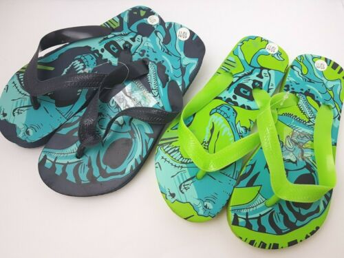 Kids Girls Boys Character Flip Flops Slip On Summer Shoes Footwear