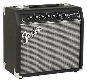 Fender Champion 20 combo 20 vatios transistor guitarras amplificador amp Hall Reverb