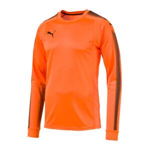 78322ae5bb Caricamento dell'immagine in corso Puma-Gk-Shirt-Maglia-da-Portiere -Arancione-Nero-