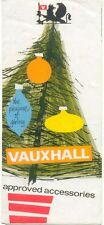 Vauxhall  Approved Accessories Brochure SP 795 1964