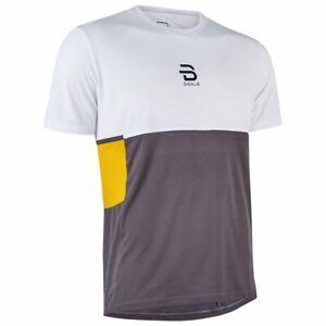 T-shirt uomo tecnica leggera Bjorn Daehlie corsa running escursionismo allena...