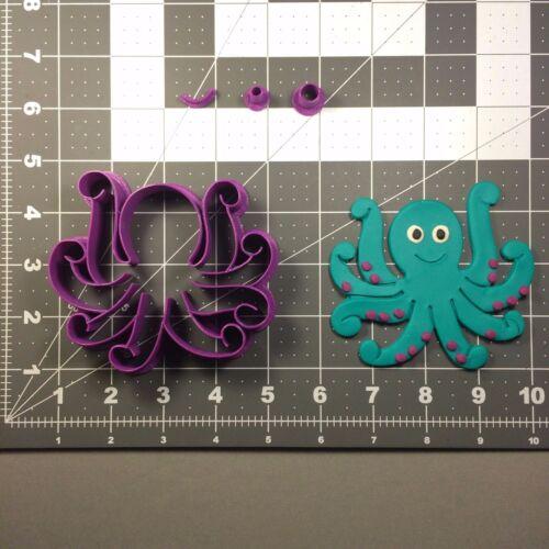Octopus 102 Cookie Cutter Set