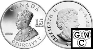 2008-Vignettes-of-Royalty-039-George-V-039-Proof-15-Silver-12392