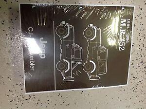 1984 1985 1986 jeep cj 7 cj7 cj scrambler service shop repair manual new book ebay. Black Bedroom Furniture Sets. Home Design Ideas