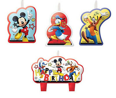 Disney PLANES 2  Birthday party molded cake cupcake CANDLES supplies 4pcs Dusty