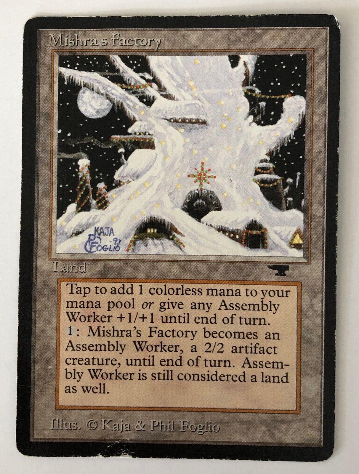 MTG Magic - [1x] MISHRA'S FACTORY Antiquities - HP winter