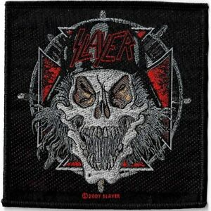 Official-Licensed-Merch-Woven-Sew-on-PATCH-Metal-Rock-SLAYER-Slaytanic-Wehrmacht