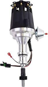 Pro-Series-R2R-Distributor-for-Ford-SB-Windsor-289-302W-V8-Engine-Black-Cap