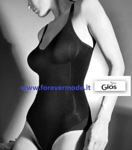 Body donna Gios cotone senza ferretto giro gamba dietro taglio laser art Ginger