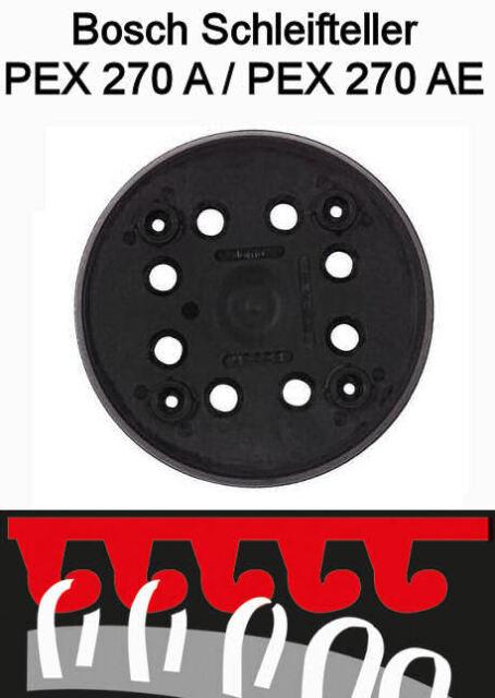 Bosch Schleifteller klett 125mm 2608601169 Exzenterschleifer PEX 270 A//AE
