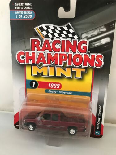 RACING CHAMPION Comme neuf 1999 Ford F-350 Limited edition 1 of 2500 1//64 Marron