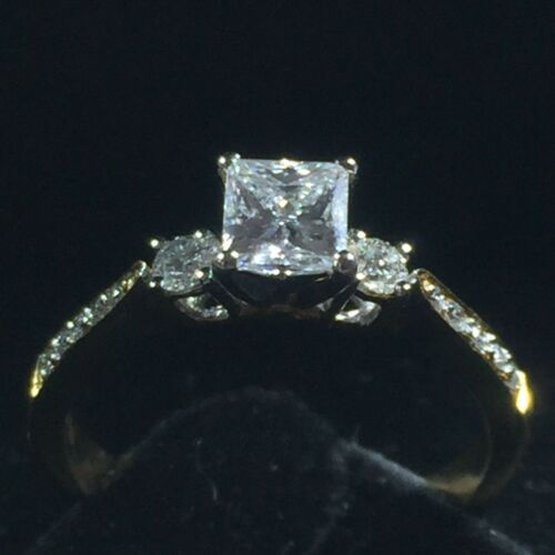 Diamond Engagement Ring 1 Crt FVS