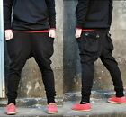 Hot Mens Casual Baggy Jogging Harem Hip Hop Dance Sweat Sport Pant Trouser Slack