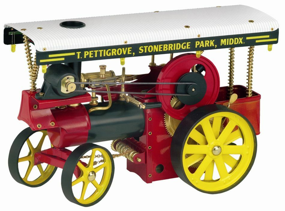 Wilesco D 409 Live Steam Engine Tractor Showman - Shipped from USA