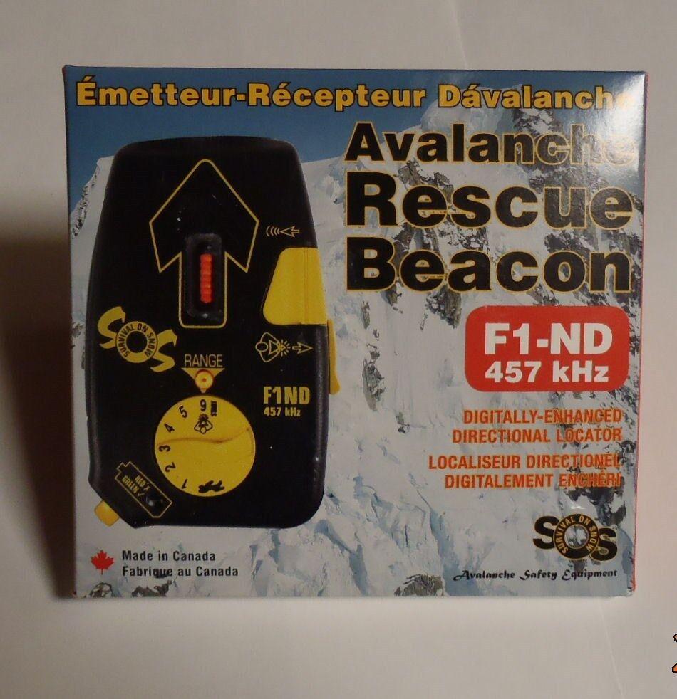 Survival On Snow avalanche beacon, NEW