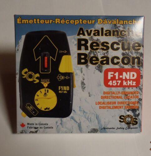 NEW Survival On Snow avalanche beacon