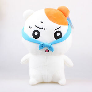 11-034-27Cm-Official-Licensed-Ebichu-Wearing-Headband-Plush-Toys-Soft-Stuffed-Doll