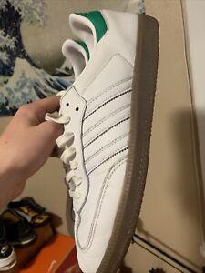 Ajustarse entregar Brutal  Adidas Samba Blanco Y Verde | eBay