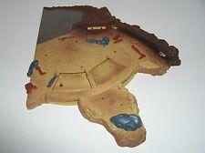 Star Wars Geonosis Battle Arena Base Half B for Parts or Restore 2002 Saga AOTC