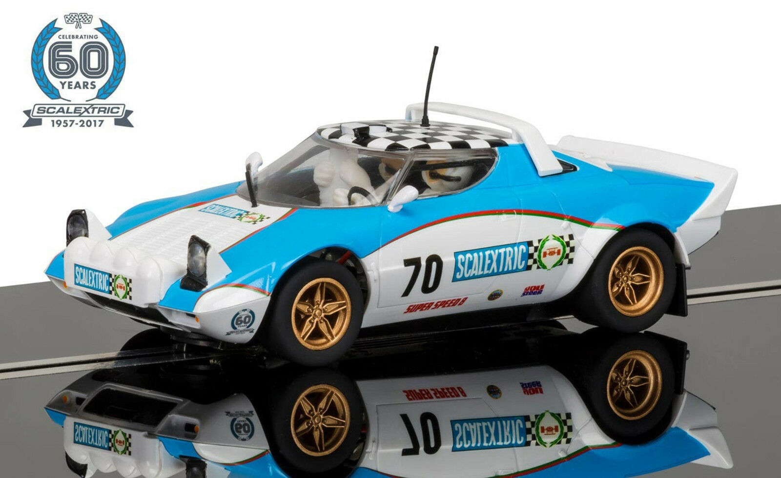 Scalextric C3827A  limited edition 1970 Lancia Stratos  | Realistisch