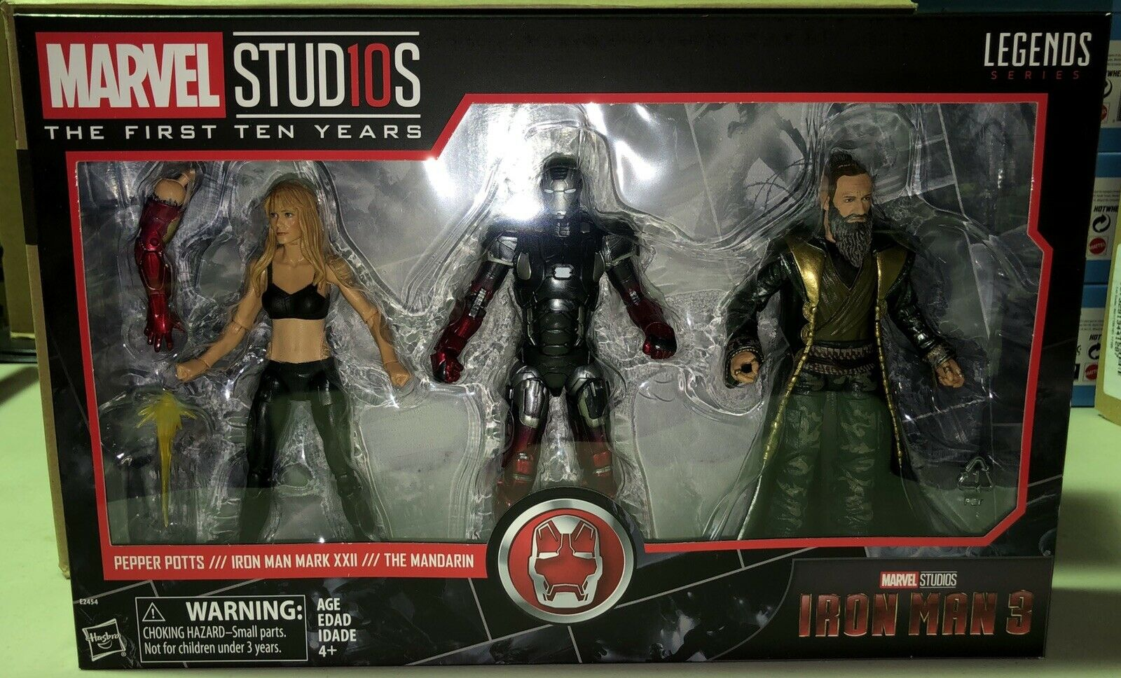 Marvel Legends MCU 10th Anniversary Pepper Potts Iron Man Mark XXII The Mandarin